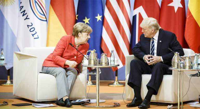 Merkel handelt wie Trump redet