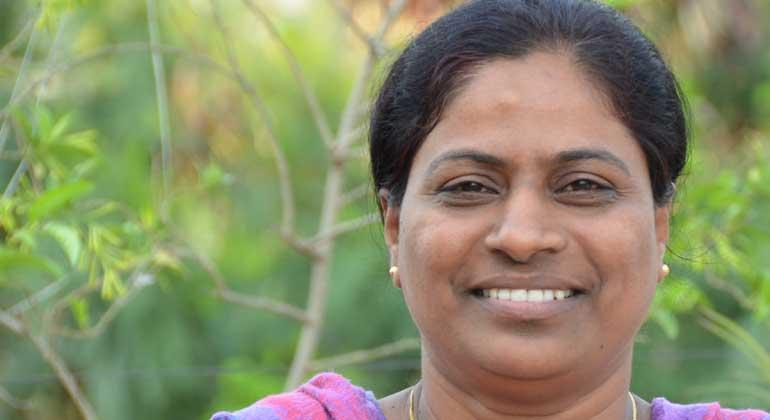 ANDHERI HILFE   Preetilata Gaikwad arbeitet ist seit 18 Jahren hochmotivierte Mitarbeiterin der ANDHERI HILFE-Partnerorganisation WOTR in Maharashtra/Indien.