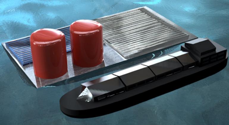 Neue Meeresplattform produziert Solar-Wasserstoff