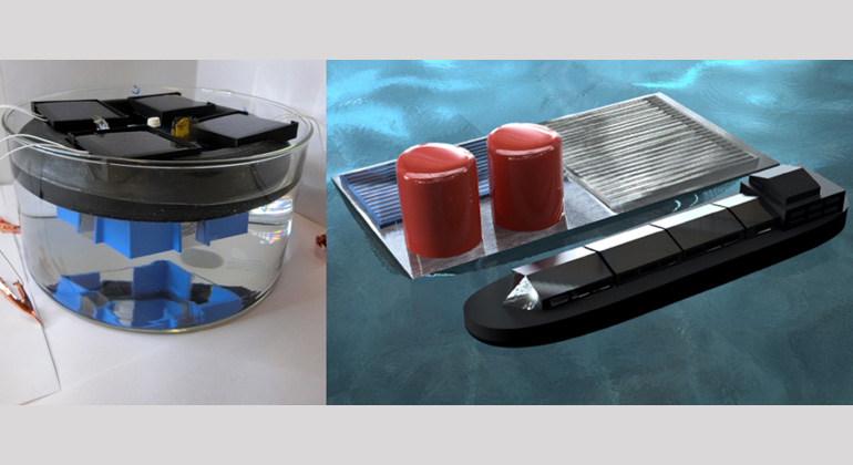 Columbia Engineers Develop Floating Solar Fuels Rig for Seawater Electrolysis