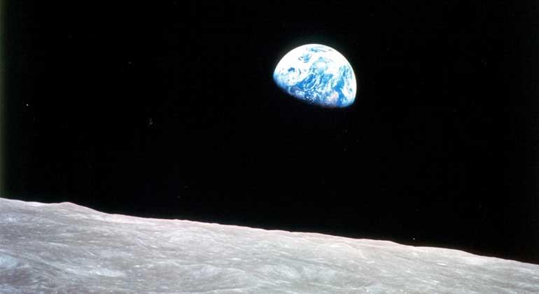 """Ein Foto, das die Welt veränderte: """"Die Entdeckung des Blauen Planeten"""""""