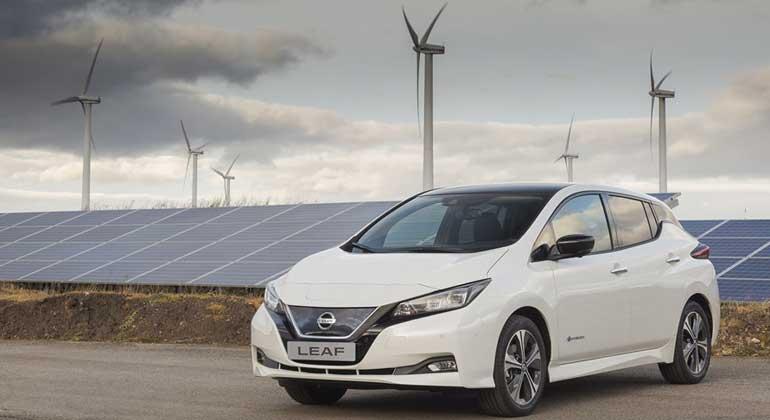 Start der Produktion für den neuen Nissan Leaf in Europa