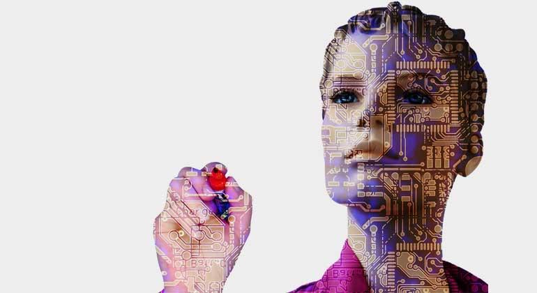 pixabay.com   geralt   Wie sich die Automatisierung, Roboterisierung und der Ausbau der Künstlichen Intelligenz auf die Gesellschaft auswirken wird, ist noch weitgehend Science Fiction oder Futurologie.