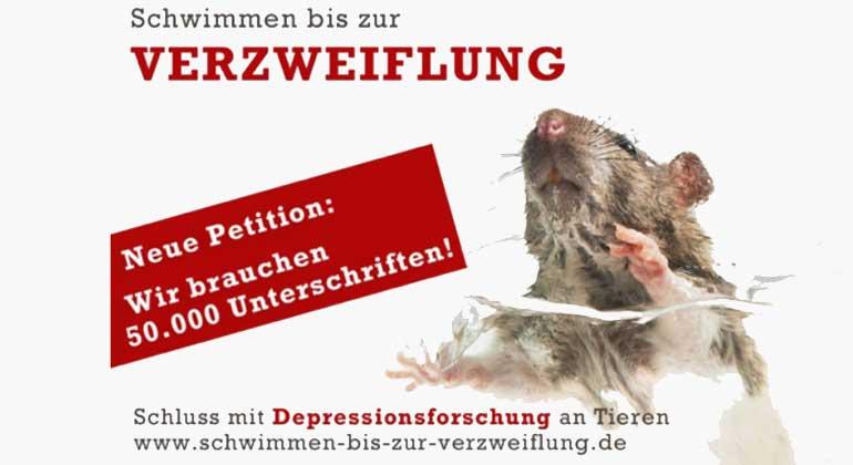 Aktuelle Statistik: 2.854.586 Tiere litten in deutschen Laboren