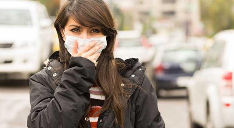 ClipDealer.com | pxhidalgo | Gesunde Luft gibt es nur noch für die wenigsten Menschen auf der Welt, dafür sorgen Abgase aus Kohlekraftwerken oder Kraftfahrzeugen.