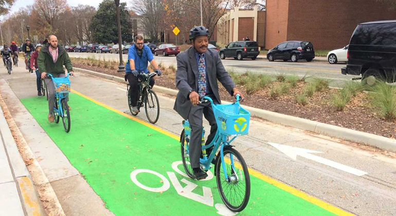 PATH Parkway Named Best New Bikeway of 2017