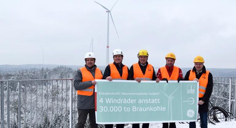 Höchste Windkraftanlagen der Welt gehen ans Netz