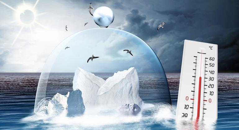 Fotolia.com | i-picture | Große Schmelze in der Arktis: Die 1,5-Grad-Schwelle wird schon 2040 überschritten, soll im IPCC-Sonderbericht stehen.
