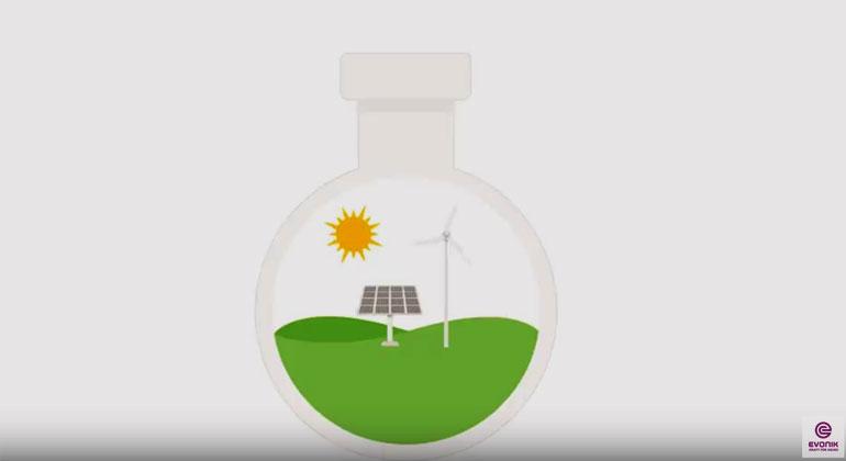 Evonik | Screenshot | Wie aus Kohlendioxid grüne Chemie wird