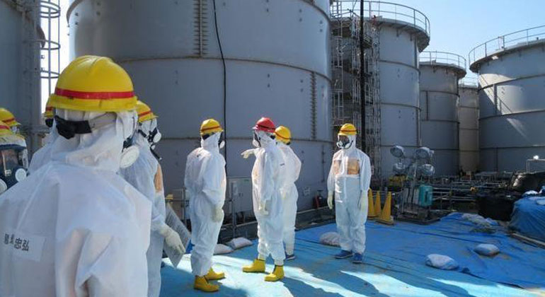 tepco.co.jp | Wassertanks im AKW Fukushima.