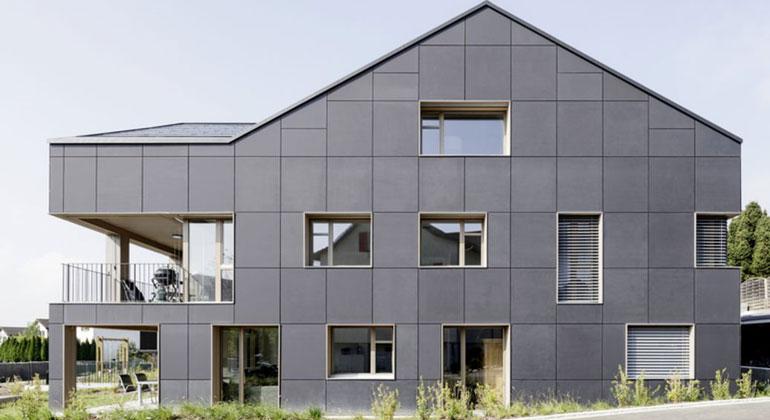 Umwelt Arena | Das Haus in Brütten bei Zürich ist komplett autark.