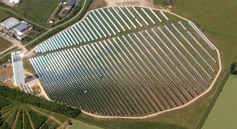 dlr.de | Solar-Turmanlage in Jülich: Wirkungsgrad lässt sich steigern