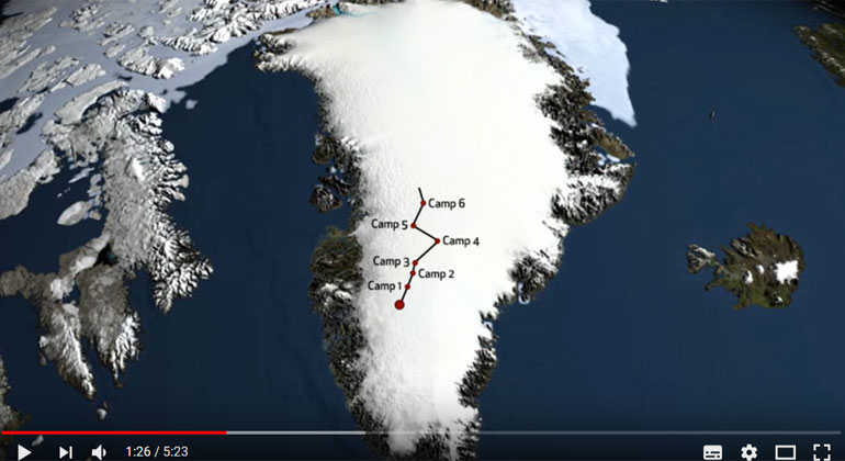 dartmouth.edu | Screenshot | Finding Out How Fast Greenland Is Melting