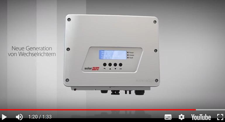solaredge.com   Zusätzliche HD-Wave Leistungsmerkmale: Klein, leicht und einfach zu installieren mit <10 kg - 99 % gewichteter Wirkungsgrad (33 % bis 50 % weniger Verluste als marktüblich) - Herausragende Zuverlässigkeit dank geringerer Wärmeentwicklung und Dünnschicht- statt Elektrolytkondensatoren - Überdimensionierung von bis zu 155 % erlaubt - Rückwärtskompatibilität mit bestehenden SolarEdge Systemen