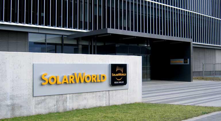 Solarworld | Werk Arnstadt: SolarWorld steht erneut vor dem Aus (