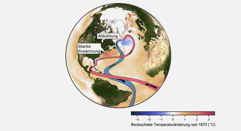 Potsdam-Institut für Klimafolgenforschung / Caesar | Der vom Menschen verursachte Klimawandel ist der Hauptverdächtige für diese beunruhigenden Beobachtungen.