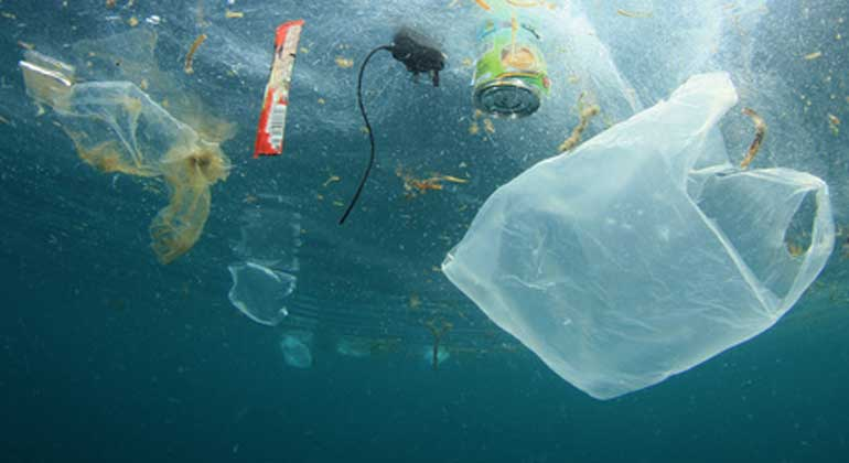 A World Drowning in Plastic Pollution