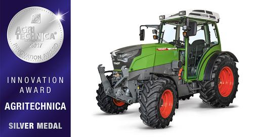 Fendt / Der E-Traktor ist auch mit einem Innovationspreis ausgezeichnet worden.