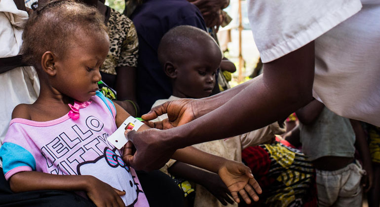 770,000 children under five suffering from acute malnutrition in Kasai region of Democratic Republic of the Congo