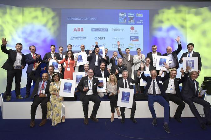 Solar Promotion GmbH   intersolar.de   Die Gewinner tragen dazu bei, die Branche zu motivieren, sich mit neuen bahnbrechenden Innovationen für eine auf erneuerbaren Energien beruhende Zukunft einzusetzen.