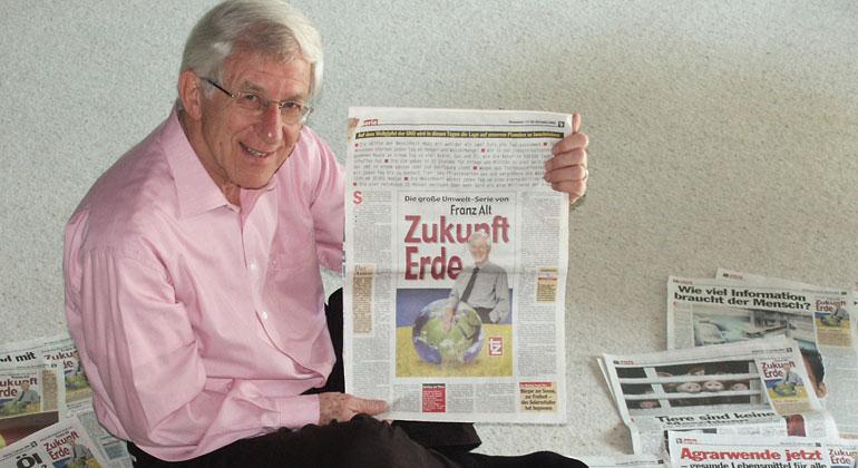 Bigi Alt   Heute feiert der Öko-Visionär Franz Alt seinen 80. Geburtstag.