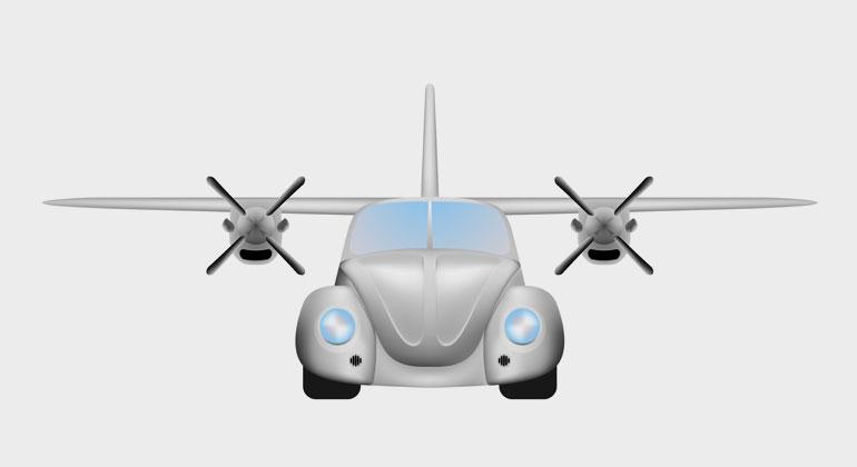 Depositphotos | BlackSpring1 | Fast jeder zweite Deutsche (41 Prozent) würde gerne schon bald in ein Flugtaxi steigen oder mit einem autonomen Auto fahren.