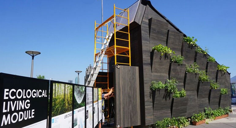 The 22-square-meter Tiny House
