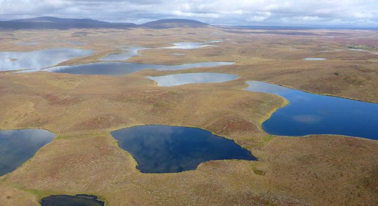 awi.de | Josefine Lenz | Arktische Seenlandschaft, Alaska