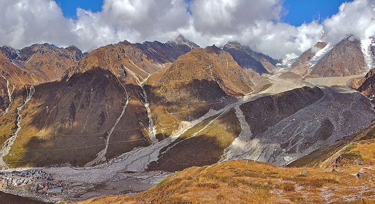 Vaibhav Kaul/ University of Sheffield   Kedarnath landslide in India