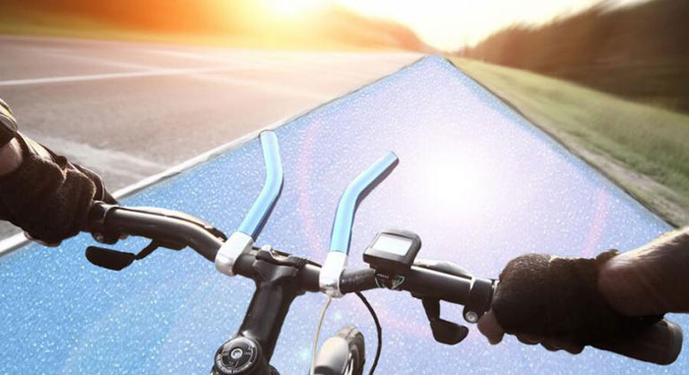 solmove.com | The cycle path near Cologne will be 90 metres long and is partly financed by the Federal Ministry for the Environment (BMU). The official opening is very soon.