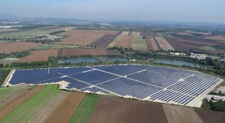 GCL System Inregration Techn. Co. / Solarprojekt in Ungarn