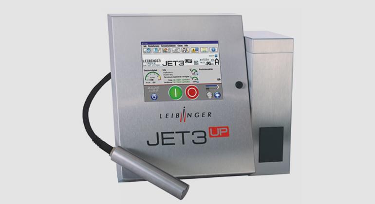 Paul Leibinger GmbH & Co. KG | Der JET3up kommt ohne interne Lüftung aus. Mit 20 Watt verbraucht der CIJ-Drucker weniger Strom als die meisten Glühbirnen.