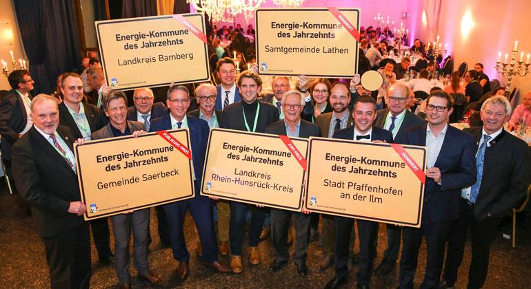 Agentur für Erneuerbare Energien | deENet, Meyer | Alle fünf nominierten Kommunen