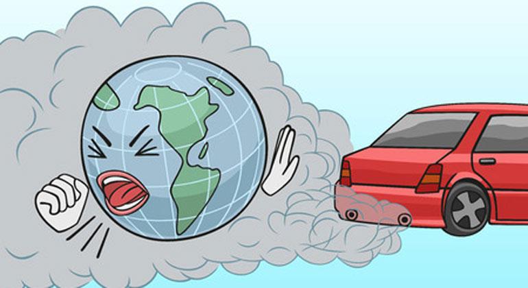 ClipDealer.com   strels   Eine Hauptquelle für Stickstoffdioxid sind Diesel-Autos.