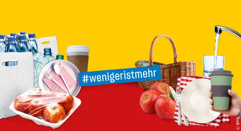 bmu.de | Warum etwas verpacken, das die Natur schon selbst verpackt hat? Viele Verpackungen, nicht nur bei Obst und Gemüse, sind schlicht überflüssig.