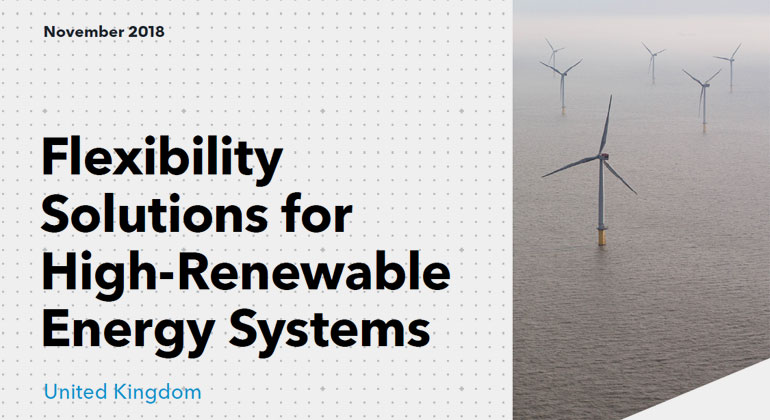 Flexibility Solutions for High Renewable Energy Systems