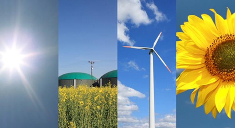 Fotolia.com | Andreas-F | Durch die Nutzung erneuerbarer Energien in Baden-Württemberg wurden 2017 rund 16 Millionen Tonnen CO2-Äquivalente vermieden.
