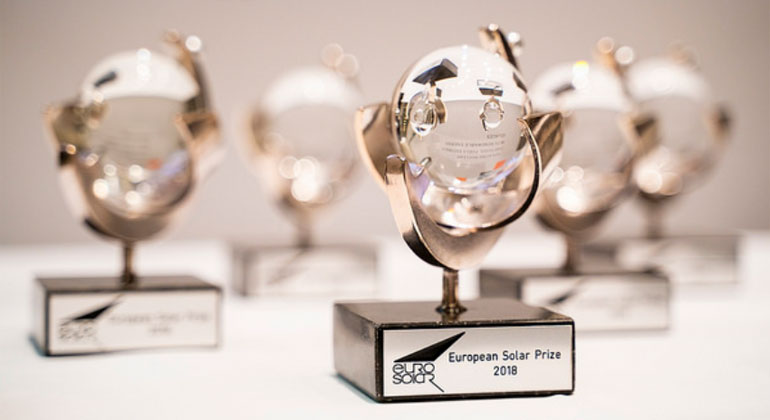 European Solar Prize 2018 awarded to eight winners