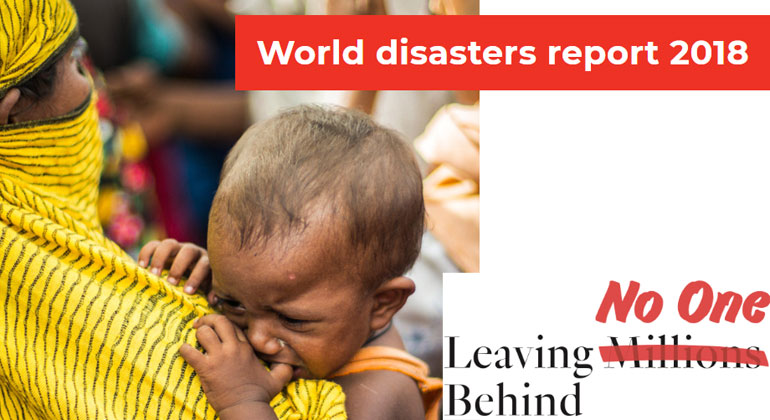 """Governments and aid groups must do more to stop millions being """"left behind"""", says new IFRC report"""
