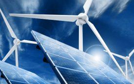 Depositphotos | taraki | Durch viel Sonne und Wind legt die Stromerzeugung aus erneuerbaren Energien nochmals zu.