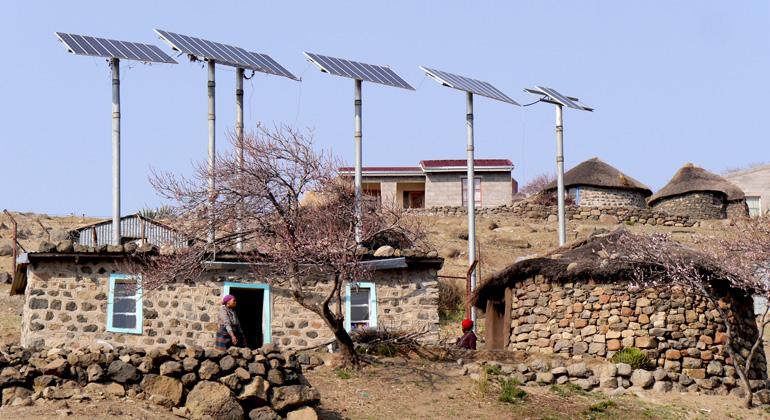 Solarenergie beschleunigt Elektrifizierung im Globalen Süden