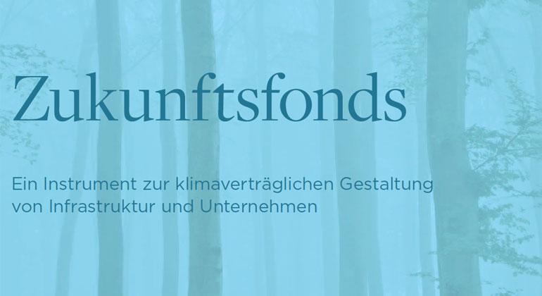 IASS   Löw Beer, D., Schellnhuber, H.-J., Leggewie, C. (2018): Zukunftsfonds – Ein Instrument zur klimaverträglichen Gestaltung von Infrastruktur und Unternehmen, IASS Policy Brief.