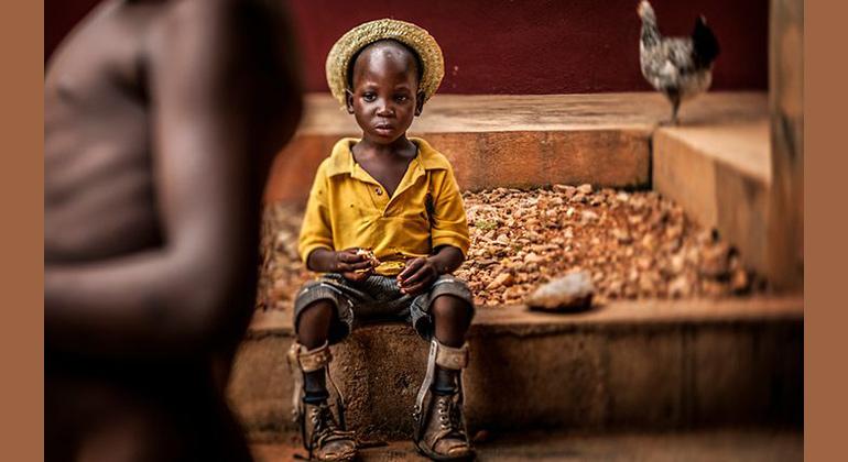 UNICEF | Antonio Aragón Renuncio, Spanien (Freier Fotograf) | Das Siegerbild: Ein Junge aus Togo
