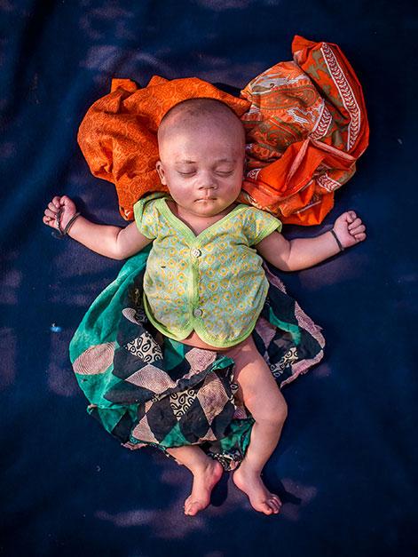 UNICEF | © Turjoy Chowdhury, Bangladesch (Freier Fotograf) | Der zweite Preis: Heimatlos geboren