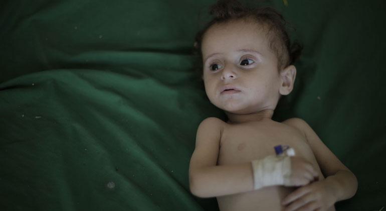 Alle zehn Minuten stirbt im Jemen ein Kind
