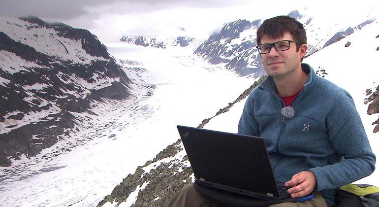 ARD | Die Prognose der Wissenschaft: Bis Ende des Jahrhunderts könnte vom Aletsch nichts mehr übrig sein.