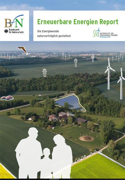 bfn.de | Cover des Erneuerbare Energien Report 2019