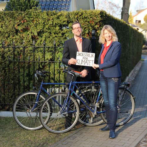 Volker und Cornelia Quaschning, wir Eltern solidarisieren uns mit unseren Kindern. Nur gemeinsam können wir das Klima retten.