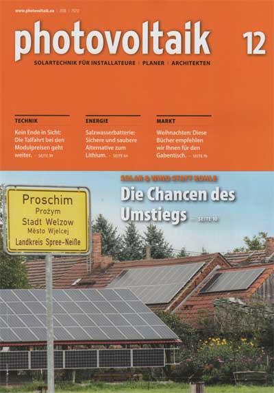 photovoltaik.eu | photovoltaik 12-2018