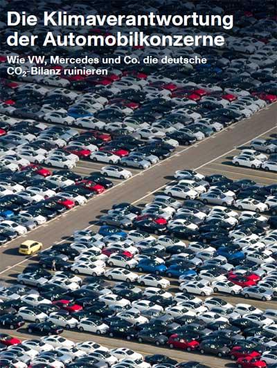 Greenpeace.de | Mit dieser Studie soll die Klimaverantwortung der großen Automobilkonzerne verdeutlicht werden. Nur wenn Automobilhersteller Fahrzeuge entwickeln und in Umlauf bringen, mit denen eine klimaneutrale Mobilität möglich ist, können die deutschen und internationalen Klimaziele erreicht werden.
